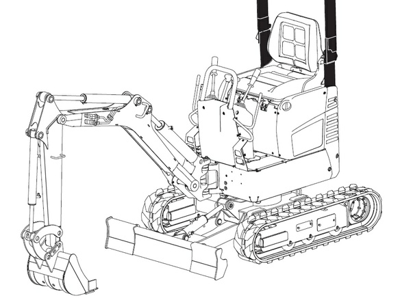Bobcat E10 Compact Excavator Service Repair Manual Download(S/N A33P11001 & Above)
