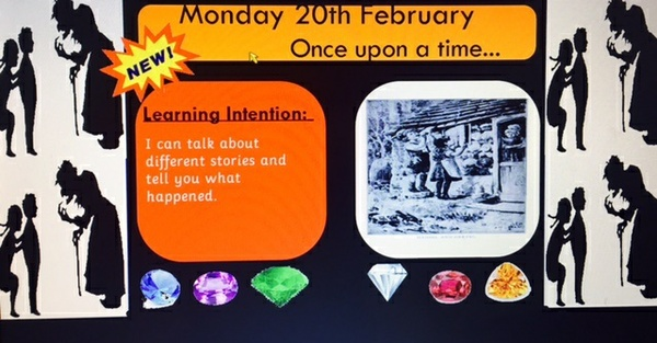 Traditional Tales Week of ACTIVINPSIRE PRIMARY FLIPCHART SLIDES