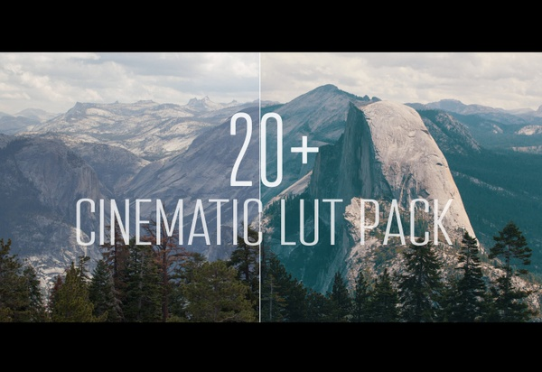 Professional Cinematic LUT Pack (20+ LUTS)