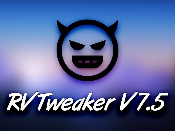 RVTweaker V7.5