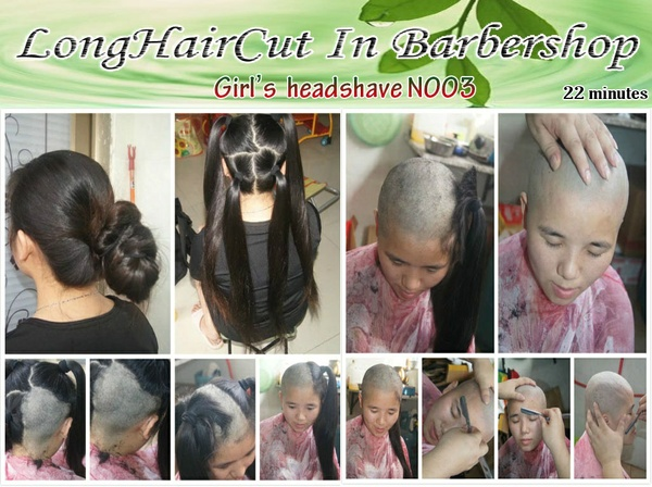 Girl's headshave N003