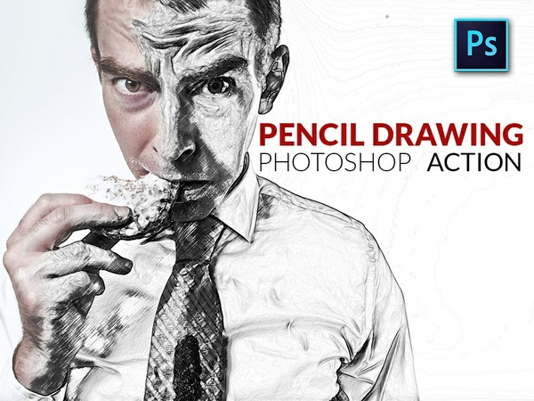Turn your photos into a pencil drawing!
