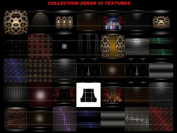 COLLECTION ZERAR 35 TEXTURES