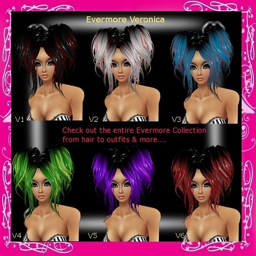 Evermore PVC Hair Textures