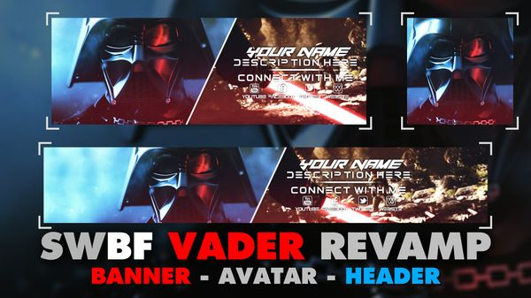 Star Wars Battlefront - Darth Vader - Revamp Pack