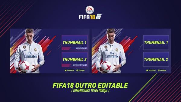 FIFA18 OUTRO EDITABLE