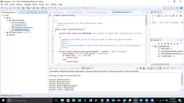 P4: Text Statistics Solution