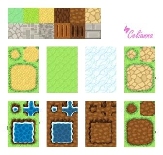"Celianna's Parallax Tiles ""Cutesy Tiles"""