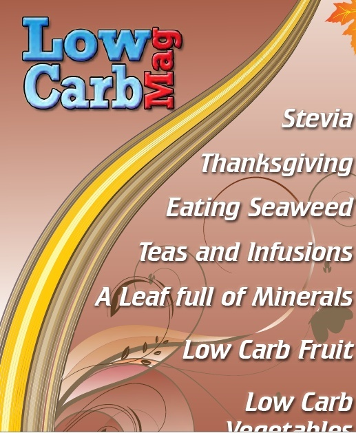 Low Carb Mag November 2013 - The Worlds Most Loved Low Carb Magazine
