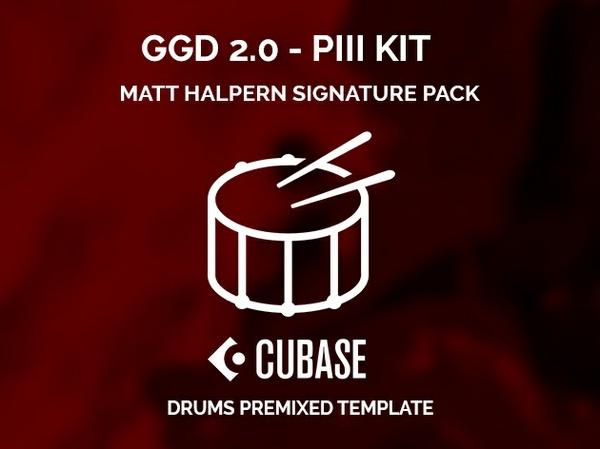 GGD 2.0 - PIII Kit - Matt Halpern Signature Pack - CUBASE premixed template