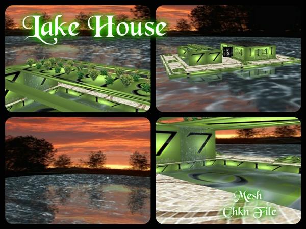 Lake House (IMVU Room Mesh)