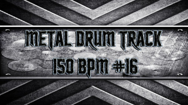 Metal Drum Track 150 BPM #16