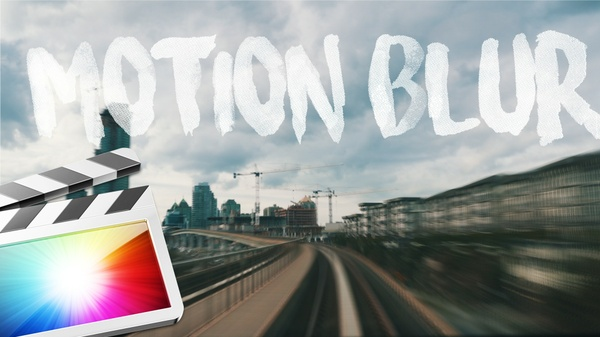 MOTION BLUR in FINAL CUT PRO X