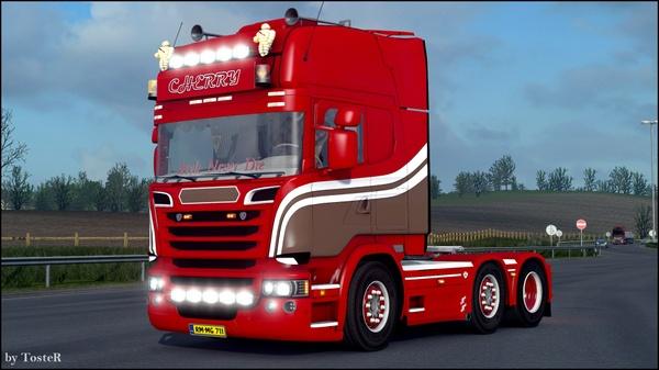 Scania V8 Cherry ETS 2