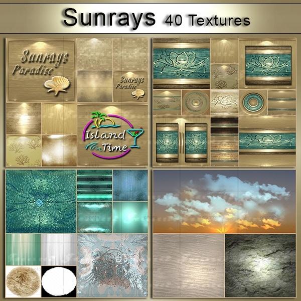 [j]Sunrays 40 Textures