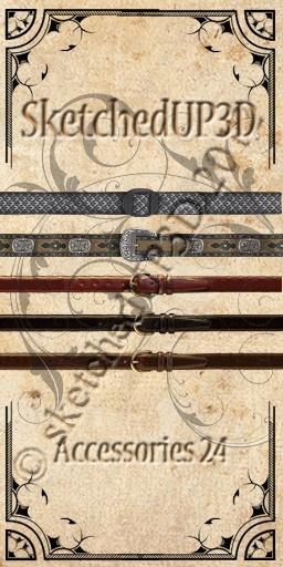Accessories 24 - Belt Textures