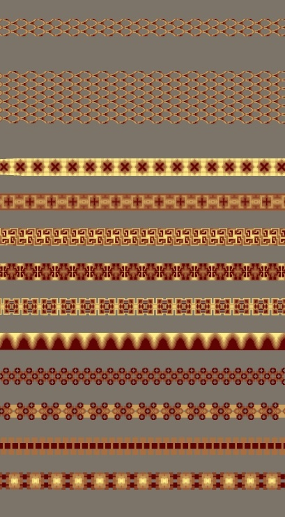 BOAN Clothing Pattern Brushes Pack 3