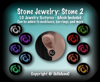 10 Stone 2 Jewelry Set