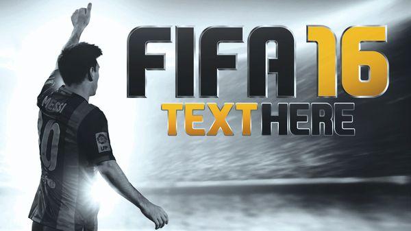 Fifa 16 - YouTube Thumbnail Template Design