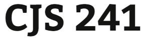 CJS 241 Entire Course