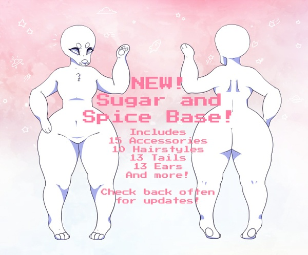 Sugar and Spice Base Pack