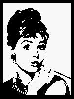 Audrey Hepburn Graph