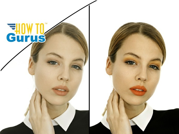 Photoshop Elements Airbrush Makeup Enhancement: How to Improve Makeup a 15 14 13 12 11 Tutorial