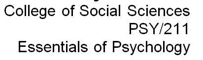 PSY 211 Week 3 Motivation and Emotion Worksheet