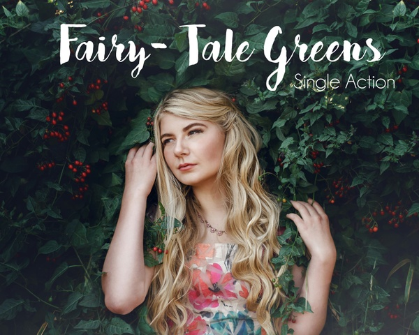 Fairy-Tale Greens- Single Action