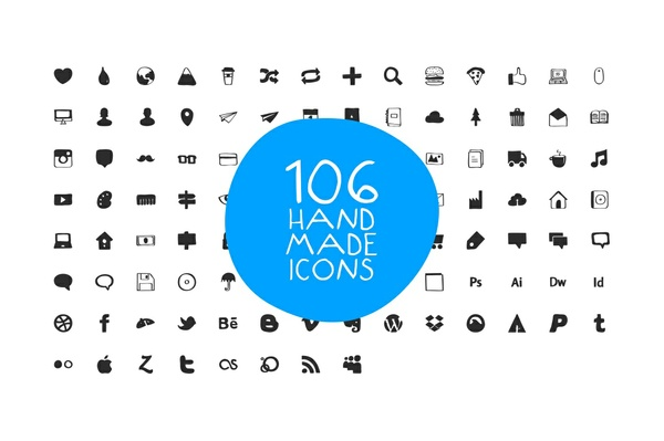 Hand Made Icons