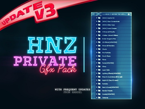 ♥ [V3: Last Update] Large pack; HNZ Pack by Hansel