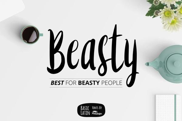 Beasty Fun Fonts
