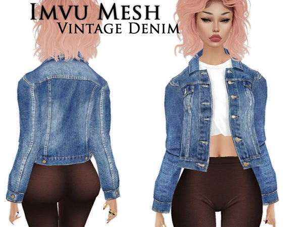 IMVU Mesh - Tops - Vintage Denim