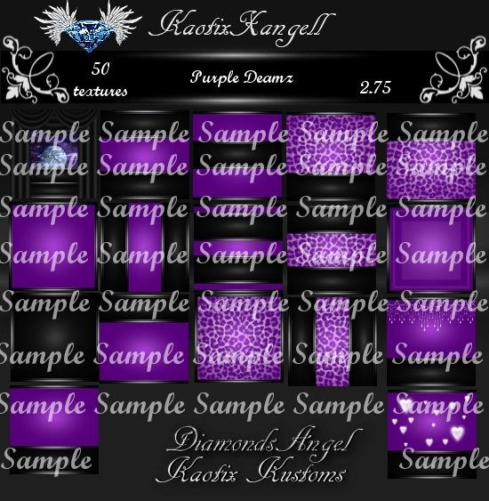Purple Dreamz Texture Pack