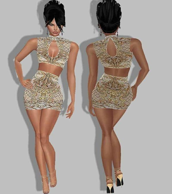 texture Zltn dress