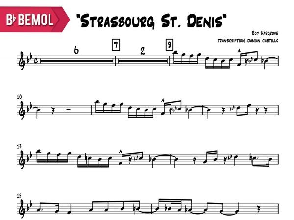 "Roy Hargrove - ""Strasbourg St. Denis"" - Bb"