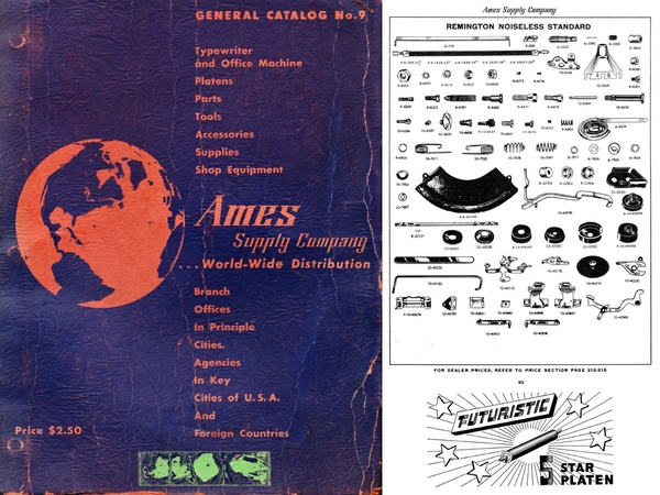 1955 AMES General Catalog No. 9