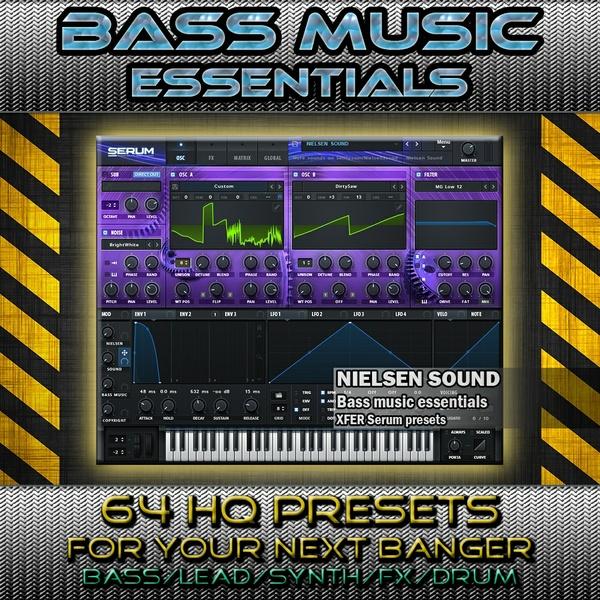Bass Music Essentials for Serum vol.1 (presets+skin+bonus)