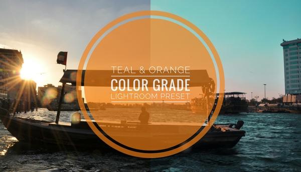 Teal & Orange Color Grade Lightroom Preset