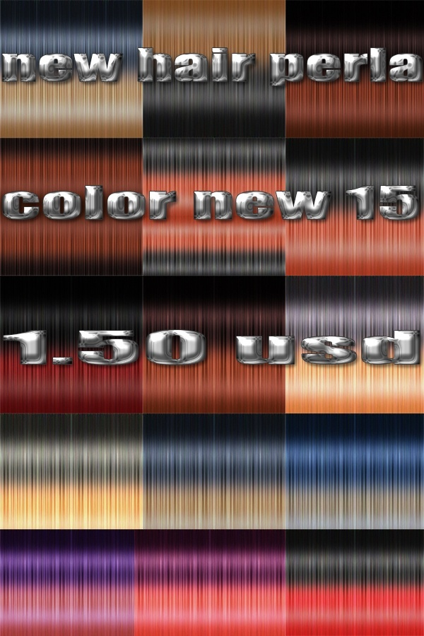 new  hairstyles 1.50 usd