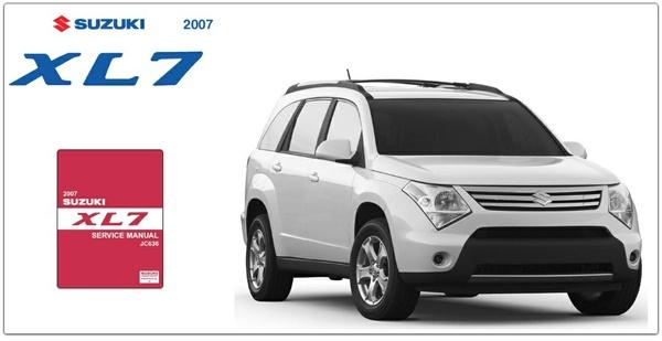 Suzuki XL-7 2007 Factory Service Manual