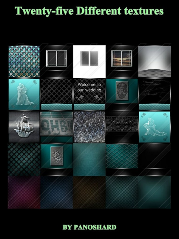 Twenty-five Different   TEXTURES ON OFFER