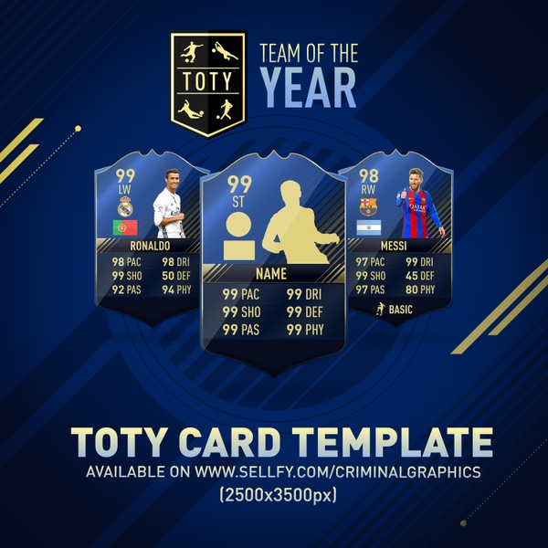 TEAM OF THE YEAR CARD TEMPLATE (HD)
