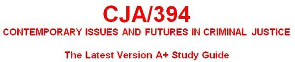 CJA 394 Week 5 Article Analysis