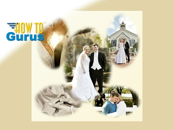 How to Make Soft Edge Vignettes for Wedding Photography in Photoshop Elements 14 13 12 11 Tutorial