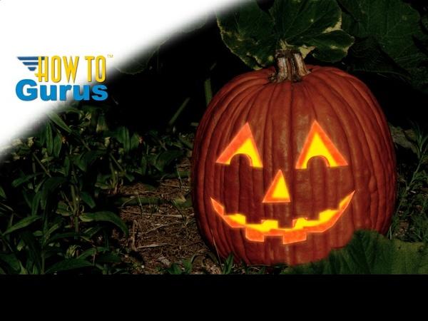 Make a Halloween Jack O Lantern using Photoshop Elements 11 12 13 14 Tutorial