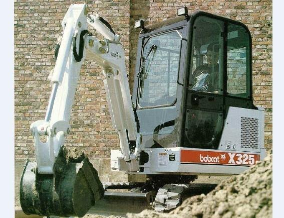 Bobcat X325 Hydraulic Excavator Service Repair Workshop Manual DOWNLOAD (S/N 511820001 - 514012999)