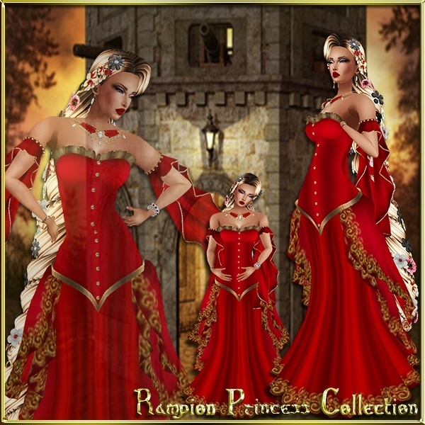 Rampion Princess Collection Limited Master Resell Rights!!!! 0/6 People