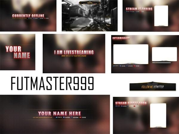 Twitch Streamer Pack