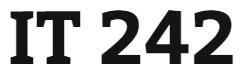 IT 242 Week 9 Individual: Security Memo